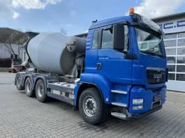 concrete mixer truck MAN TGS 8x4 Euro 5 Betonmischer Liebherr 2012
