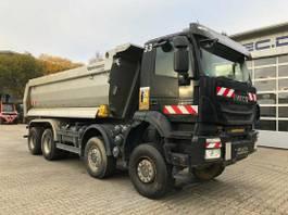 tipper truck > 7.5 t Iveco Trakker AD410TW 8x8 Euro 6 Muldenkipper 2017