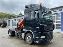 crane truck DAF XF105.480 4x2 Euro 5 Kran Palfinger 16001 Funk 2013
