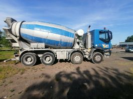 concrete mixer truck Iveco Trakker - 9cbm-SCHALTGETRIEBE- BLATT-BITBURG 2008