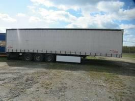 tilt semi trailer Fliegl Gardine Standard, Pal.Kasten, Lift, Scheibe 2009