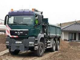crane truck MAN TGS 26 6x6 HIAB 144 BORDMATIK Kran Kipper . 2008