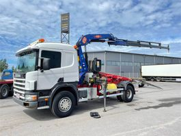 crane truck Scania P94G 260 4X2 1999