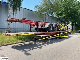 Container-Fahrgestell Auflieger General Trailers Chassis 20 FT, Steel suspension 2002