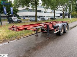 container chassis semi trailer Fruehauf Chassis 20 FT, Steel Suspension 1998