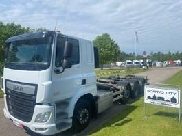 chassis cab truck DAF CF 460 8x2*6 FAQ 2016