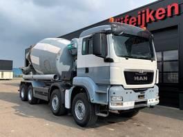 concrete mixer truck MAN 32.360 8X4 - IMER CONCRETE MIXER 9 CUBIC 2013