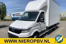 closed lcv MAN TGE 5.180 bakwagen laadklep zijdeur airco navi automaat NIEUW 2021