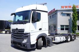 chassis cab truck Mercedes-Benz , E6 , 6X2 , MEGA , BDF , chassis 7,9m , steer axle 2017