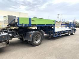 lowloader semi trailer Goldhofer STZ-L2-31/80ª extensible 2006