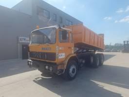 tipper truck > 7.5 t Renault G 260 Manager (GRAND PONT / SUSPENSION LAMES / 6 CULASSE / POMPE MANUELLE) 1989