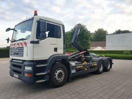 container truck MAN TGA 28.360 6x2 CONTAINER SYSTEEM- CONTAINER SISTEEM- CONTAINER HAAKSYSTEEM- SYSTEME CONTENEUR 2005