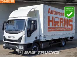 other trucks Iveco Eurocargo 80E190 4X2 Manual Ladebordwand Euro 6 2017
