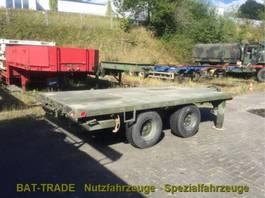 flatbed semi trailer US Army Flatbed Trailer Anhänger XM1061 - 2 Achs blatt REO M939 bolster 1985