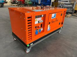 generator Kubota New Boy EPS103DE 10 kVA Supersilent generatorset Nieuw !