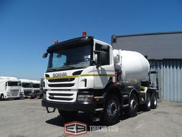 concrete mixer truck Scania 8x4 2012