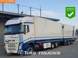 refrigerated truck Volvo 6X2 XL Doppelstock Liftachse ACC I-Park Cool EEV 2013
