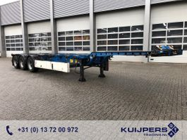 container chassis semi trailer Krone SD / 3 axle BPW Drum / 20-30-40-45 ft / Container Chassis 2008