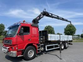 crane truck Volvo FM12.420 6x2 WITH HIAB 166-4 EURO 3 MANUAL 2001