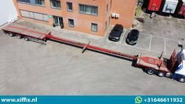 Plattform Auflieger ES-GE 3-ass. Vlakke dubbel (2x) uitschuifbare oplegger // 3x gestuurd 2007