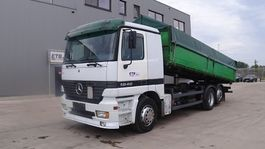 tipper truck > 7.5 t Mercedes-Benz Actros 2540 (MANUAL GEARBOX / BOITE MANUELLE / PERFECT / 6X2 / EURO 2) 2001
