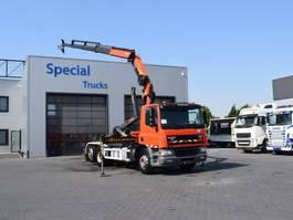container truck DAF CF 75 6x2 + Palfinger PK18002 EH (2010) + Palfinger Hooksystem T20 (2014) 2002
