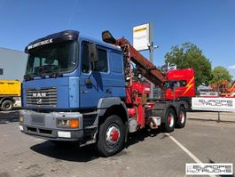 cab over engine MAN Full steel - Manual - Steel tipper - Airco 1997