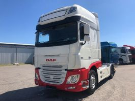 cab over engine DAF XF 106 XF Super Space Cup 46 FT 2016