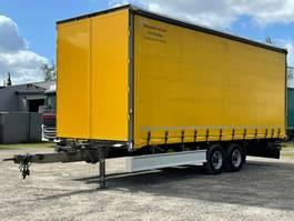 tilt trailer Möslein TP 11-D Tandem - durchladbar, Edscha 2016