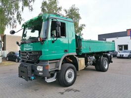 tipper truck > 7.5 t Mercedes-Benz Actros K 4x4, Dreiseitenkipper, Euro 4 2007