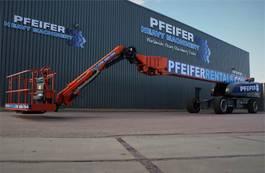 telescopic boom lift wheeled JLG 1850SJ Valid inspection, *Guarantee! Diesel, 4x4x4 2016
