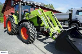 farm tractor Claas Arion 430 w / front loader and bucket 2011