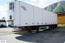 anderer Auflieger Schweriner thermal trailer with / full side opening 2008
