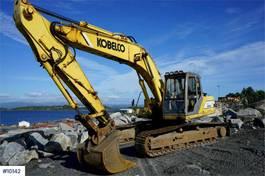 crawler excavator Kobelco SK210LC MK2 Excavator with 3 buckets. WATCH VIDEO 1998