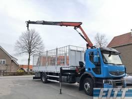 drop side truck Renault Lander 310 - Palfinger 12tm kraan - 312500 km - ZF8 2012