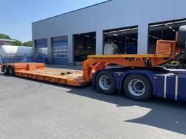 lowloader semi trailer Nooteboom EURO 38-02L/V , Extandable 2001