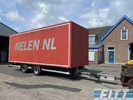 closed box trailer Tracon TM18 2ass wipcar met gesloten opbouw 2009