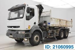 tipper truck > 7.5 t Renault Kerax DCi - 6x4 2005