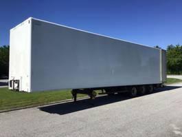 closed box trailer spier Gesloten Oplegger 2011