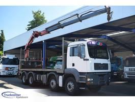 platform truck MAN TGA Full Steel 8x4, HMF 2003 K3, Manuel, Truckcenter Apeldoorn 2006