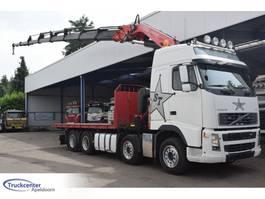 platform truck Volvo Fassi F800XP, Euro 5, 8x4, Truckcenter Apeldoorn 2008