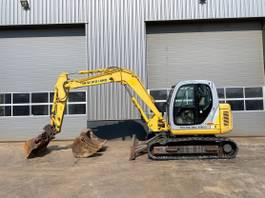 crawler excavator New Holland E80 MSR 2005