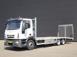 car transporter truck Iveco Eurocargo ML120E28 EEV / MACHINE TRANSPORTER 2011