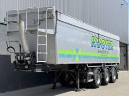 tipper semi trailer Bulthuis TATA 12 / Alu. kipper / 40m3 / 2 x Stuuras / Milieukleppen / BPW / NL Trailer 2005