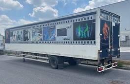 Kofferauflieger Schmitz Cargobull 1 achs City Lenk luft zwilling Portal 2008