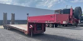 lowloader semi trailer Goldhofer 3 achs hydr Tiefbett luft Lenk Rampen neu Tüv 2001