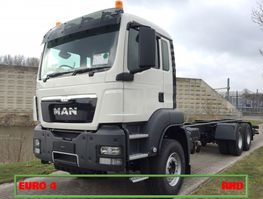 chassis cab truck MAN TGS 33 6x4 BB WW RHD EURO4 2021