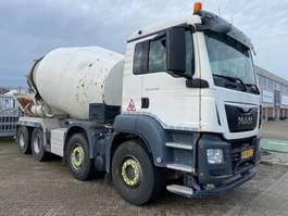 Betonmischer-LKW MAN 37.360 8x4 10m3 mixer EURO6 2014