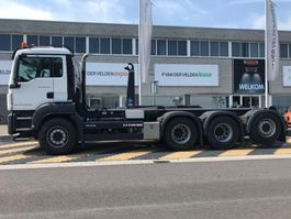 container truck MAN TGS 35.460 8x4-4 BL EURO6 2018