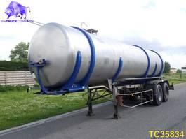 tank semi trailer semi trailer Loheak Tank 1985